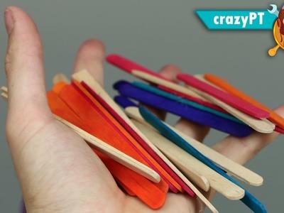 5 Amazing life Hacks With Popsicle Sticks