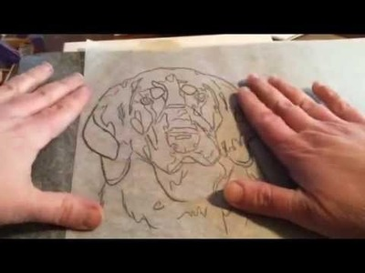 Art Lessons: Simple sketch to canvas transfer methods