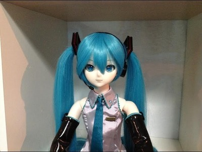 Box Opening Limited Dollfie Dream Hatsune Miku