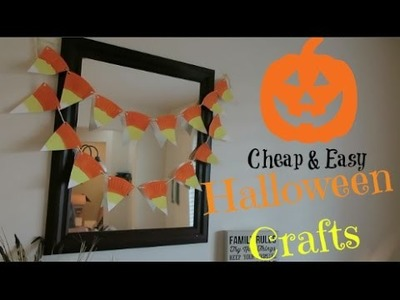 CHEAP EASY HALLOWEEN CRAFTS FOR KIDS