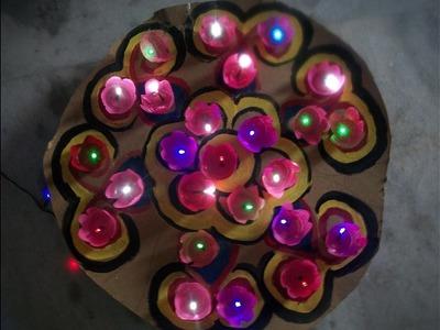 Christmas home decoration ideas.flower patterns lighting decoration