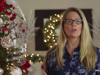 Decorating with the Red, White, & Sparkle Collection for your Christmas