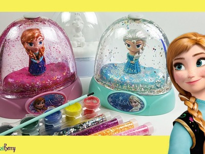 DISNEY FROZEN GLITZI GLOBES inspired. Paint your own glitter dome