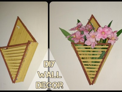 DIY Newspaper Wall Decor || Best from waste || Wall Decor ideas