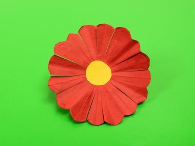 Easy Gerbera Daisy Origami