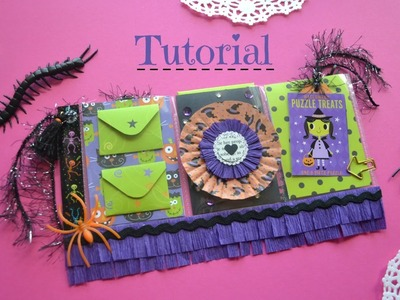 Halloween Mini Pocket Letter Tutorial - Collab with Bambidearr