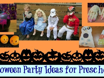 Halloween Party Ideas for Preschool. Kids : Pinterest | Easy snacks and crafts