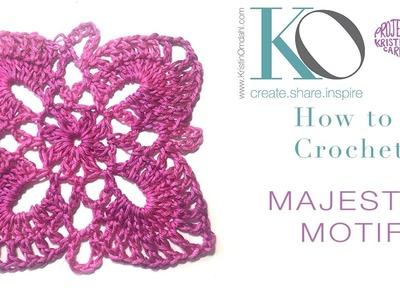 How to Crochet Majestic Motif