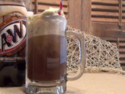 How to make A&W Root Beer Float Simple. Foodie. Fun. TV.