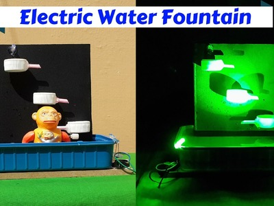 How to Make an Electric Tabletop Water Fountain with LED Light