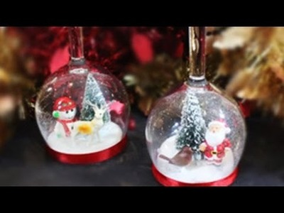 How to Make Winter Wonderland in a Wine Glass