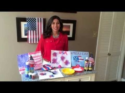 July 4th Arts & Crafts For Kids