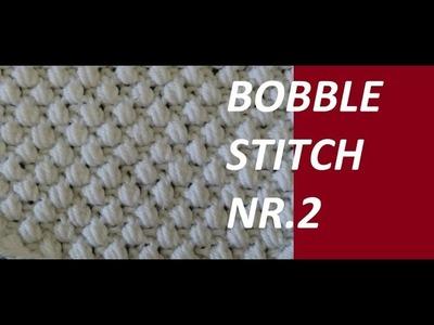 Knit Pattern *BOBBLE STITCH Nr.2 *