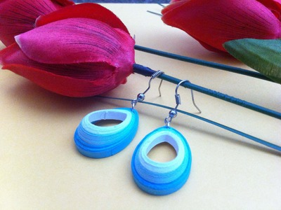 Latest Quilling earrings