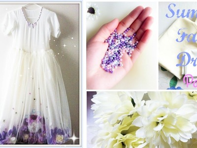 ✂️Making of Summer Fairy dress✂️ Part 3 ♡ Annie Omar Thoughts ♡