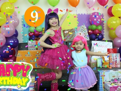 My Little Pony Birthday Party KAYCEE'S 9th Birthday!!