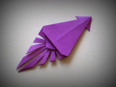 Origami - How to make a Squid