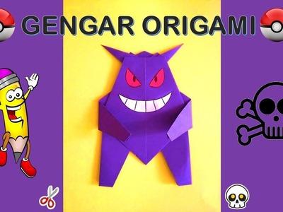 Origami Pokemon GENGAR fácil de hacer