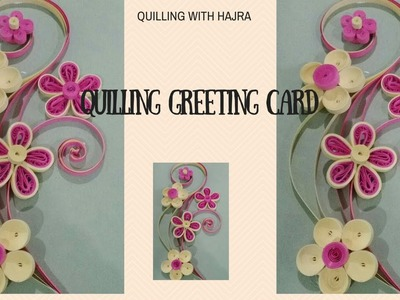Quilling greeting card perfect for Anniversaries