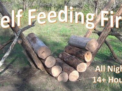 Self Feeding Fire -  14+ Hour Fire