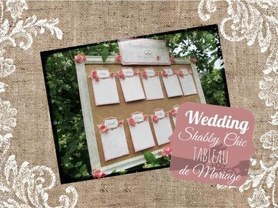 The Wedding Room: Tableau de mariage shabby chic - Shabby chic wedding tableau
