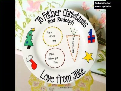 Xmas Eve Plates | Picture Collection Of Christmas Decorations - Holiday Decorating Ideas