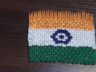 3D origami flag of India (Indian flag) Tutorial
