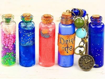 8 DIY Magic Bottle Pendants Ideas