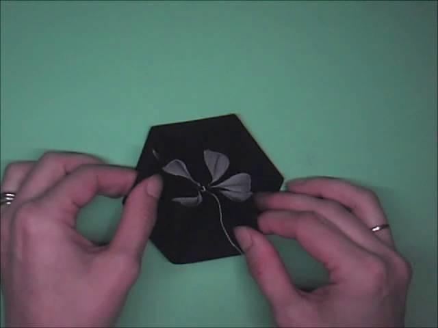 Alison's Bag - Fabric Folded Hexagon Tutorial