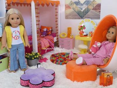 American Girl Doll Julie's Bedroom