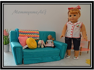 American Girl Doll Maryellen's Sofa Bed Opening & Reviews