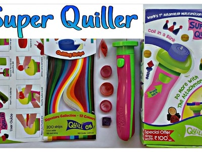 Best quilling tool - Automated Device - Make quilling crafts quickly!