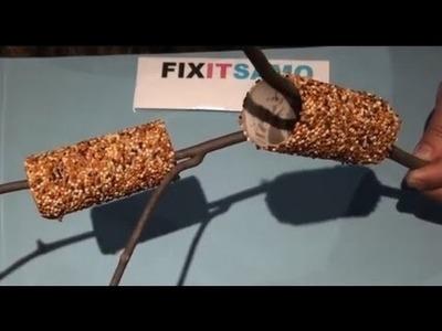 Cheap and Original Home made Birds Feeder
