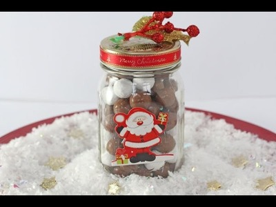 Chocolate Snowballs in a Jar | Edible Christmas Gift Idea