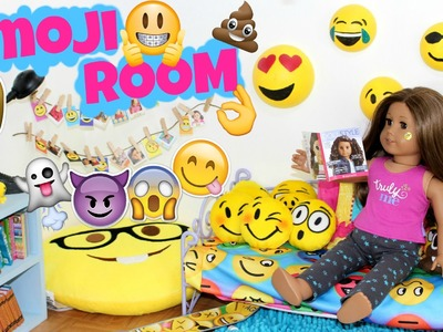 Emoji Doll Bedroom | American Girl Doll Room Tour