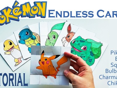 Hattifant - Pokemon Evolution - ENDLESS CARDS Papertoy TUTORIAL