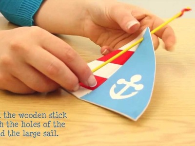 How to make a Foam Sailboat