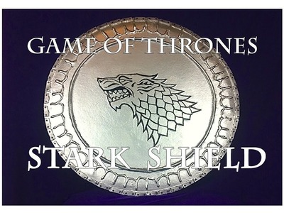 How to make a Game of Thrones Stark shield
