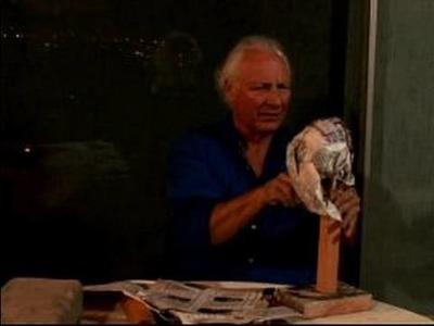Human Head Sculpture : Using Paper for a Human Head Sculpture Armature