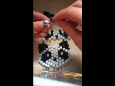 Kandi Panda Bear Tutorial  Part 2