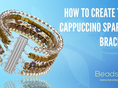 Learn To Make This Cappuccino Sparkle Bracelet