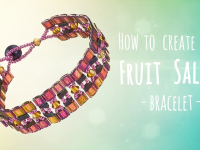Learn to make this fruit salad bracelet