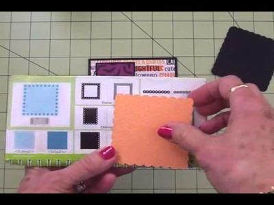 Mary's Monday Vlog August 25, 2014 ~ Cricut Halloween Card