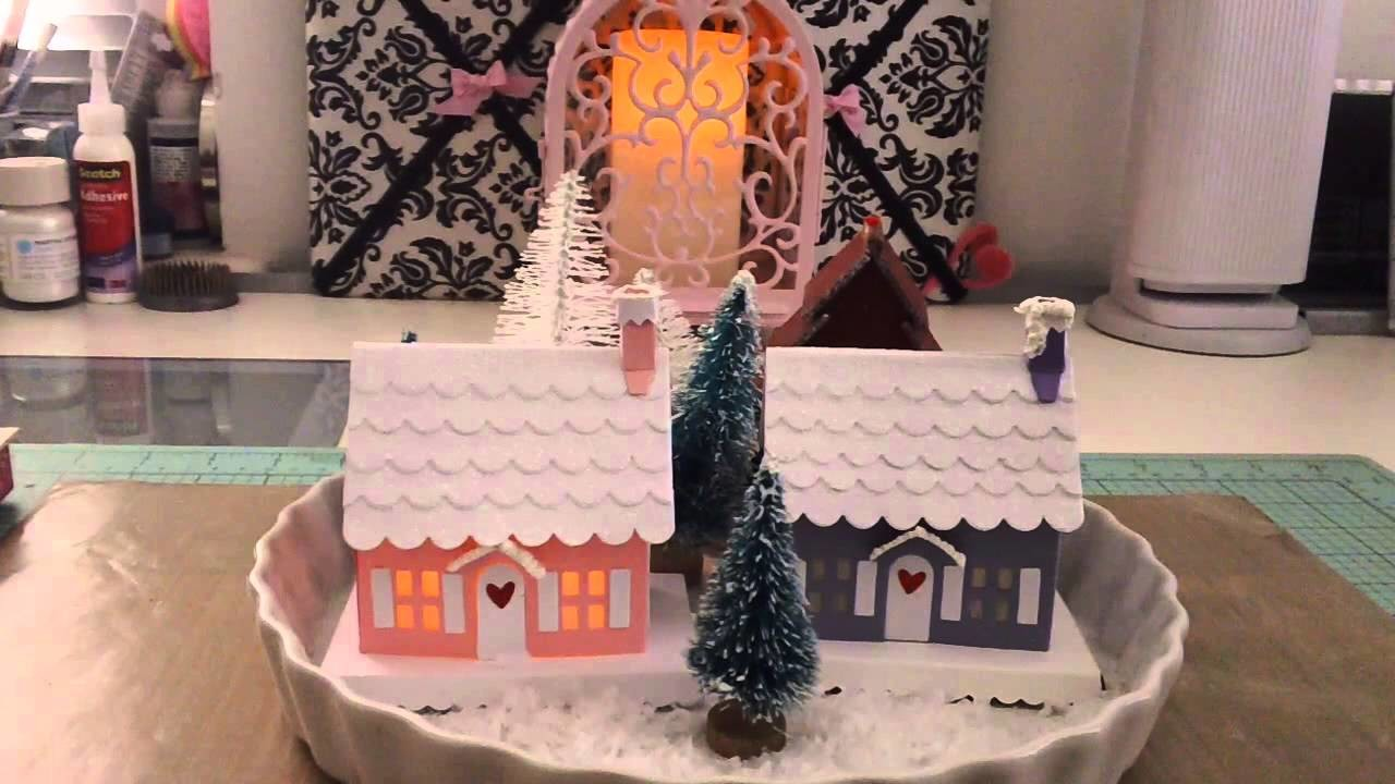 My Christmas Village and Little Christmas Tree