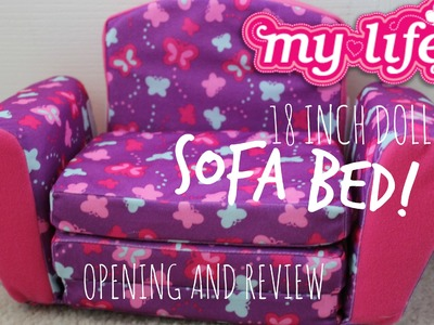My Life As- Sofa and Pull-Out Bed! OPENING AND REVIEW!