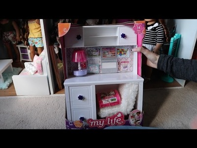 Opening the My Life Desk From Walmart!