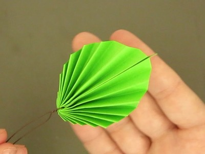 ORIGAMI FOR CARDS | ORIGAMI LEAVES