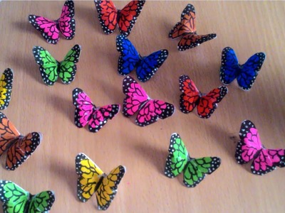 Room decoration with butterfly