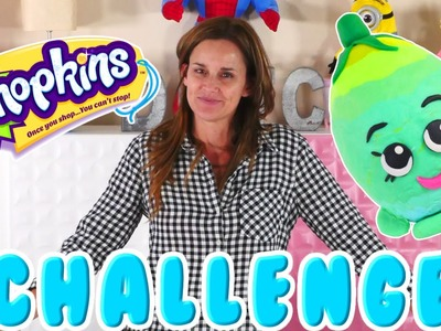 SHOPKINS Challenge with Play Doh - Making Shopkins Playdo Surprise Eggs