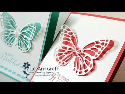 Simply Elegant Butterfly card
